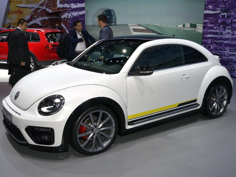 2016 Volkswagen Beetle Monterey >> Auto Show de Nueva York 2015 - Volkswagen Beetle R-Line concept se presenta - Noticias ...