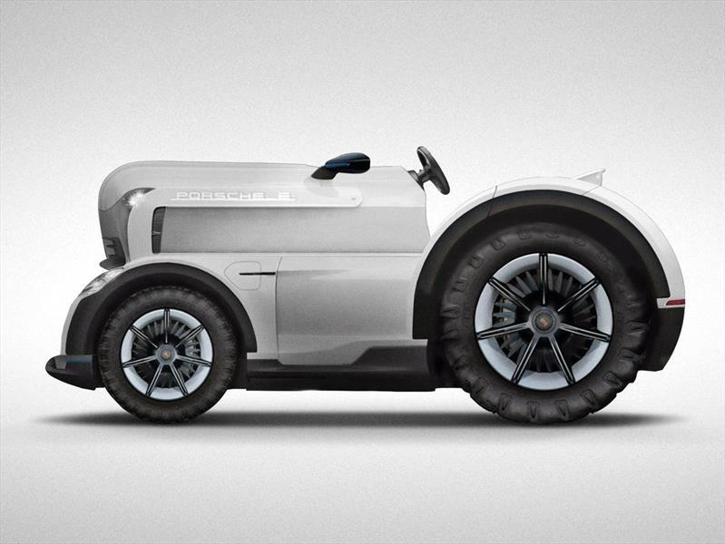 Porsche Mission E Tractor, más que una máquina agrícola
