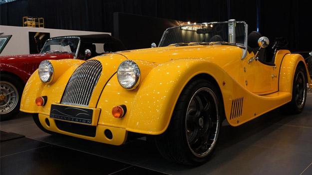 Morgan Plus E Concept debuta en Ginebra