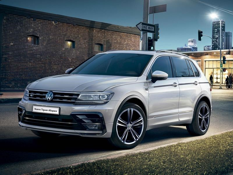 volkswagen tiguan allspace se lanza en argentina. Black Bedroom Furniture Sets. Home Design Ideas