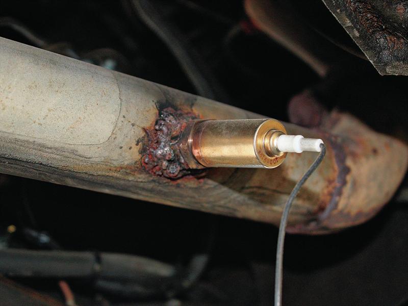 ¿Cómo funciona el sensor de oxígeno en un auto?