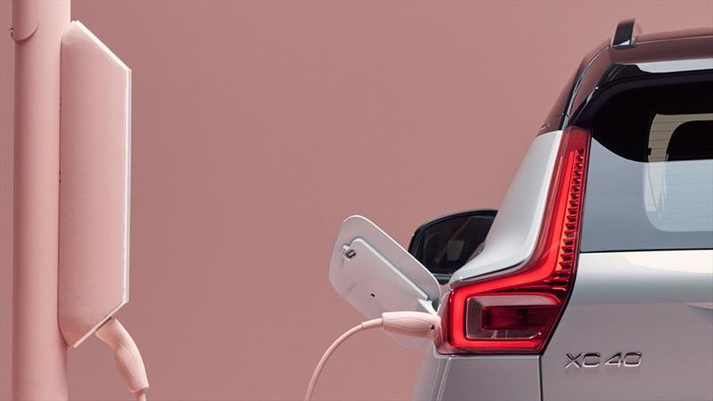 XC40 Electric es el primer automóvil totalmente eléctrico en la historia de Volvo