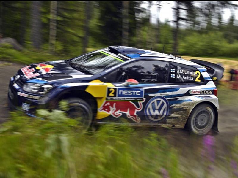WRC: victoria para Latvala y Volkswagen en Finlandia