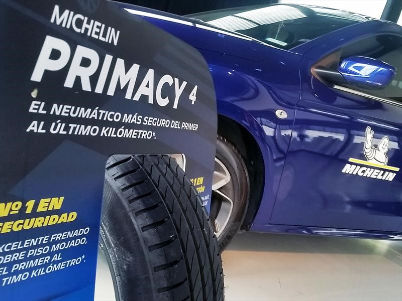 Michelin lanza el Primacy 4 en Chile