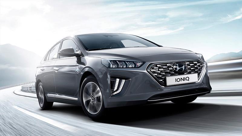 Hyundai Ioniq 2020 llega a México como un híbrido con mayor equipamiento