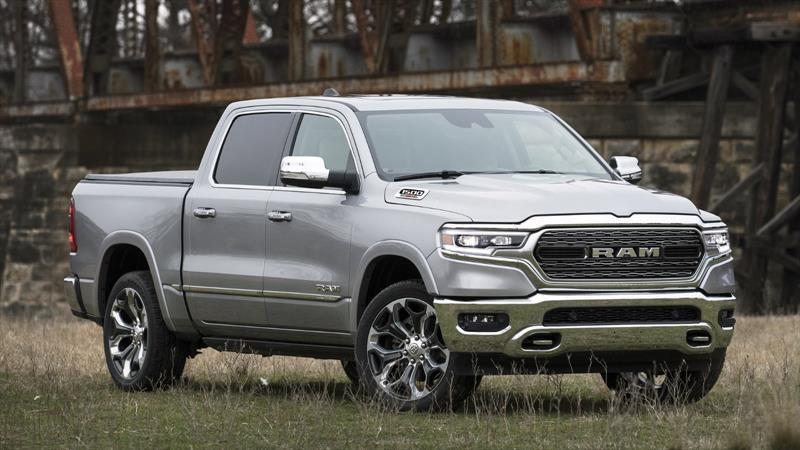 Ram 1500 2020 con motor V6 diesel es el pickup full size con mejor consumo de combustible