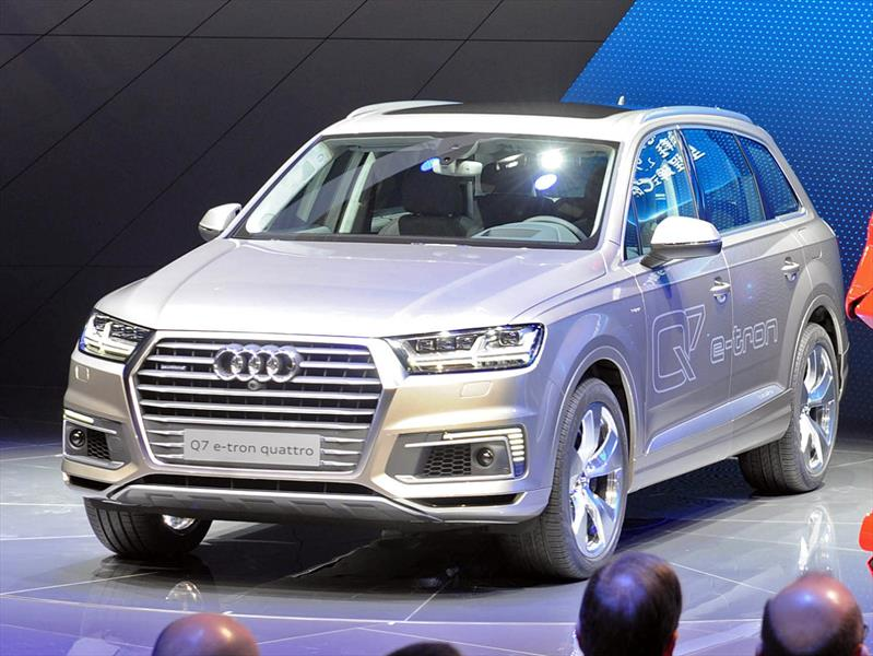 Audi Q7 e-tron quattro 2.0 TFSI, poder y eficiencia
