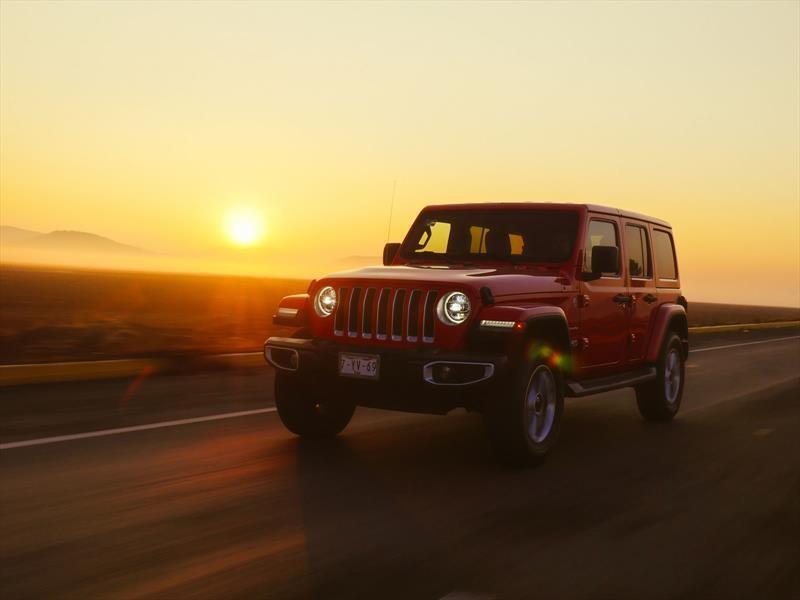Manejamos el Jeep Wrangler 2018