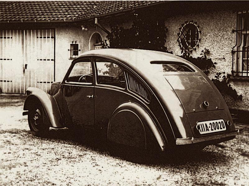 Retro concepts: Porsche Type 12