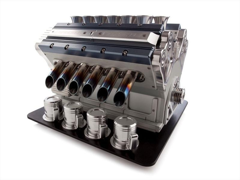 Una cafetera V12, para preparar café más potente