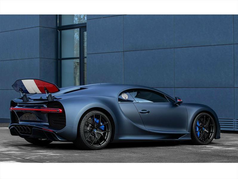 Bugatti Chiron Sport 110 Ans, el homenaje a la persistencia