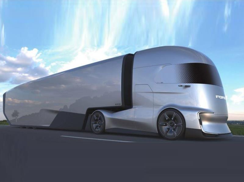Ford F-Vision Future Truck visualiza a los camiones eléctricos y autónomos