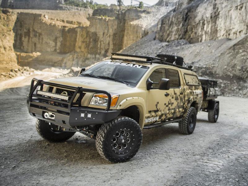 Nissan Project Titan Conquista Alaska Autocosmos Com