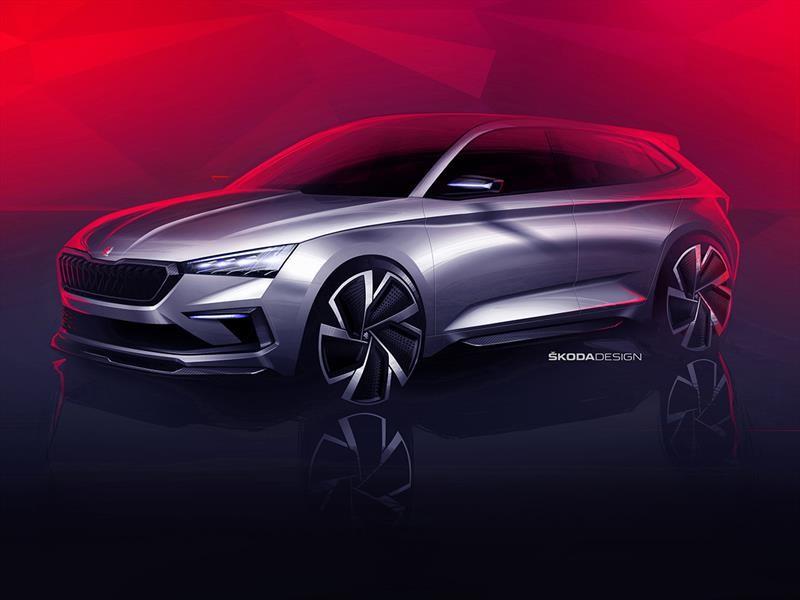 Skoda Vision RS Concept anticipa los próximos deportivos checos