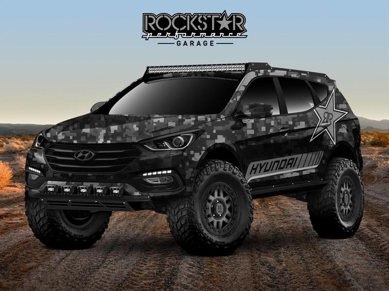 Rockstar Energy Moab Extreme Off-roader Santa Fe Sport Concept, para un apocalipsis zombie