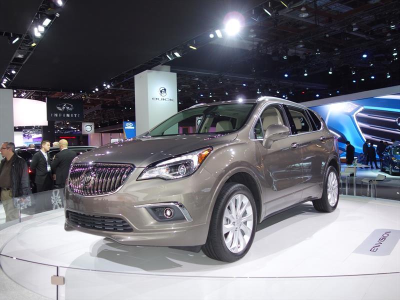 Buick Envision llegará a México en el transcurso de 2016