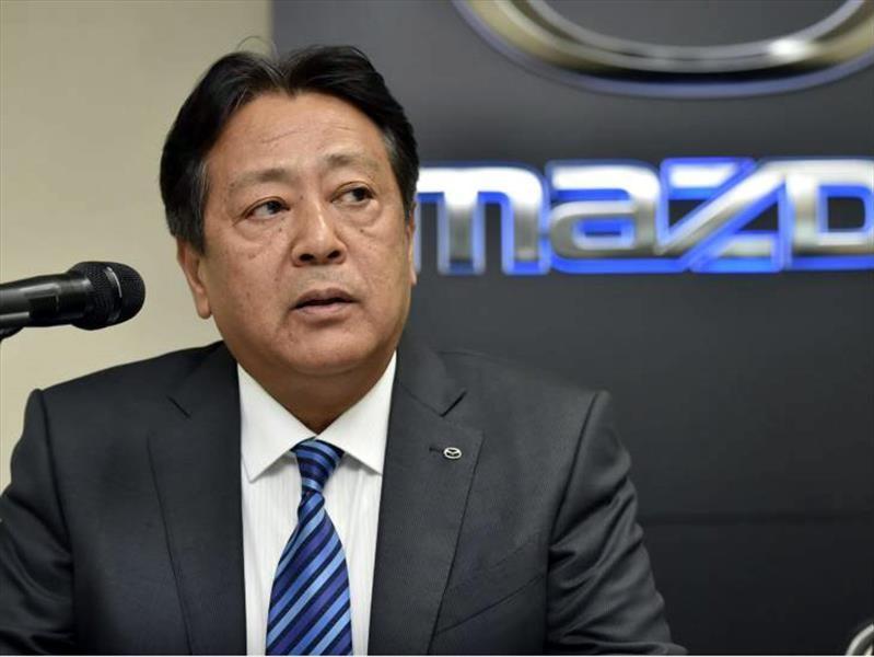 Akira Marumoto es el nuevo CEO de Mazda