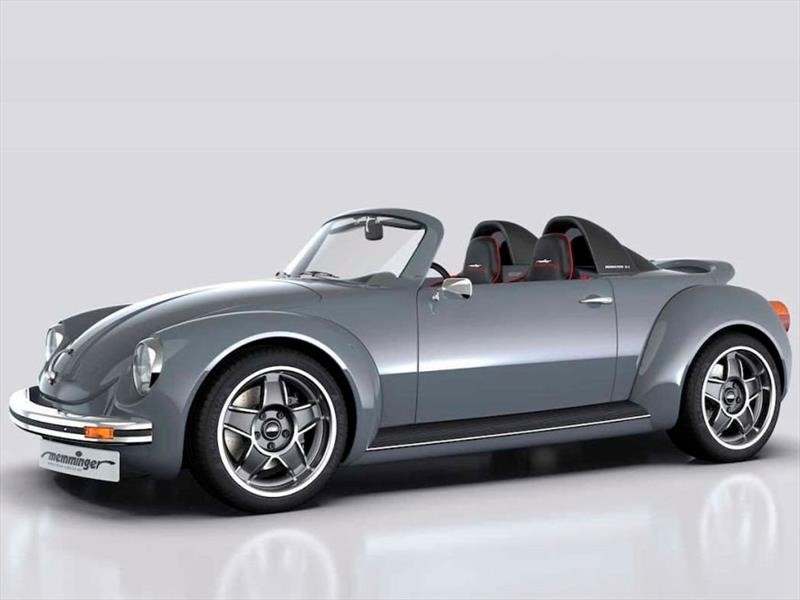 Memminger Roadster 2.7 es un Vocho con motor central