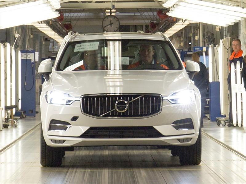 Volvo le da luz verde a la producción del XC60 2018