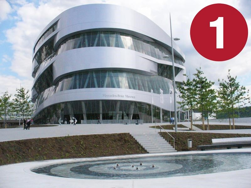 Una visita al Museo Mercedes-Benz, parte 1