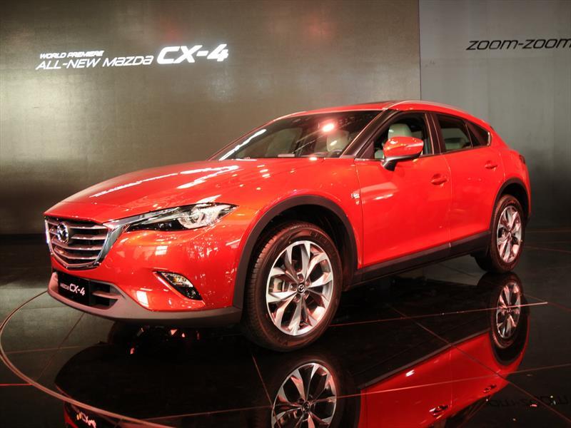 Mazda CX-4, crossover  muy deportivo para Beijing