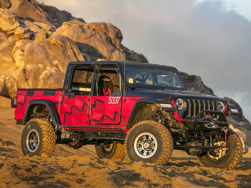Jeep Gladiator y una competencia previa a su llegada al mercado