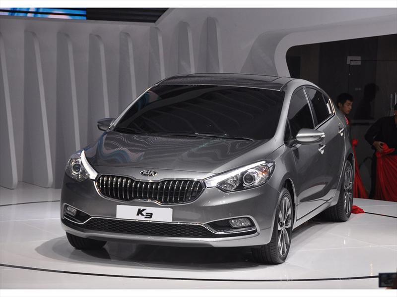 Kia Cerato K3 2013 ya es realidad