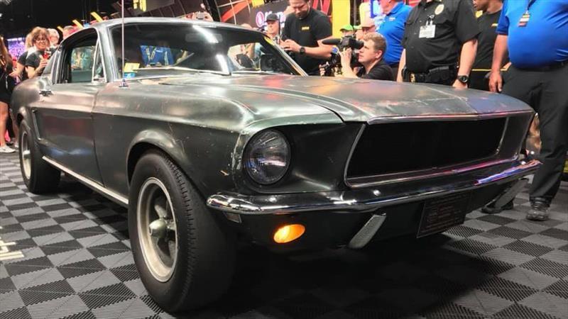 Mustang de la película Bullitt es vendido en una cifra récord para un pony car