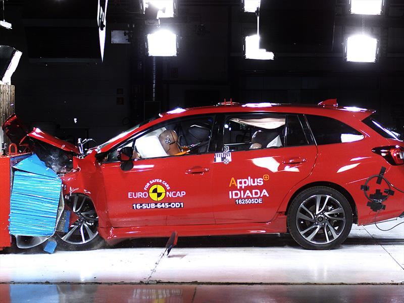 Subaru Levorg obtiene cinco estrellas en prueba de choque de ENCAP