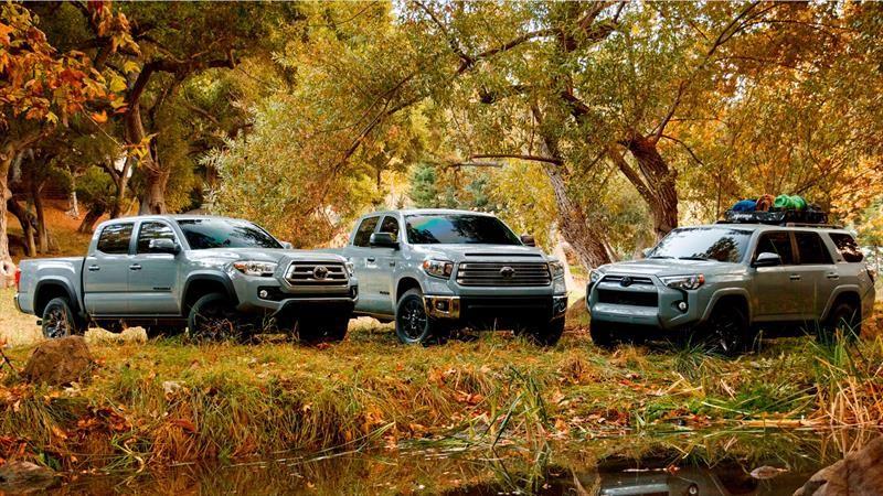 Toyota 4Runner, Tacoma y Tundra en sus versiones Trail Edition no tienen límites