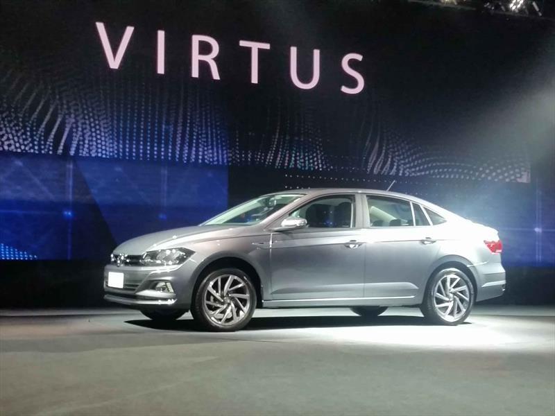 Volkswagen Virtus 2018: Así es el sucesor del Vento