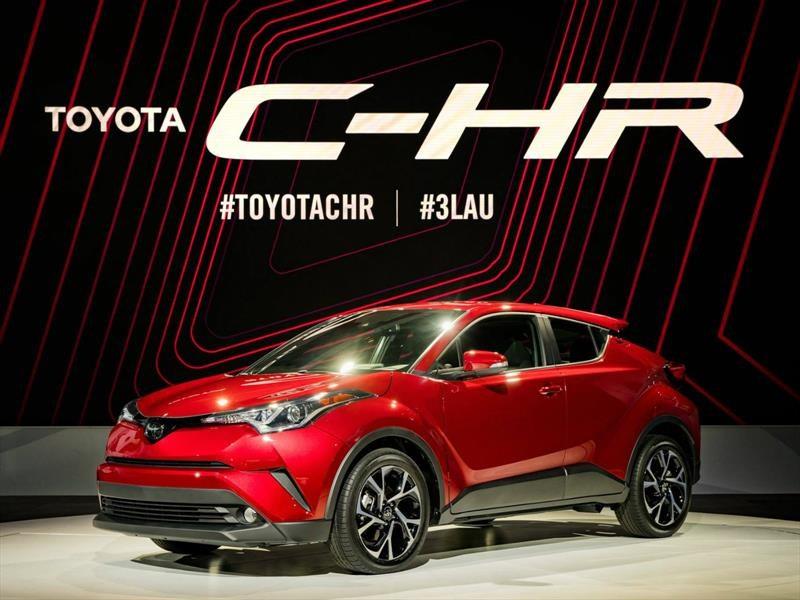 Toyota C-HR 2018, llega el nuevo SUV pequeño