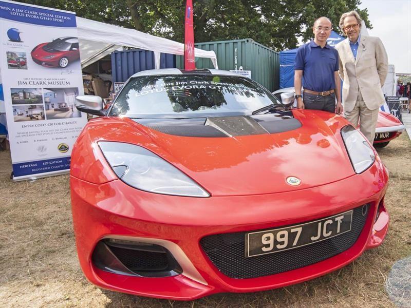 Lotus Evora GT410 Sport Jim Clark Edition es un auto único