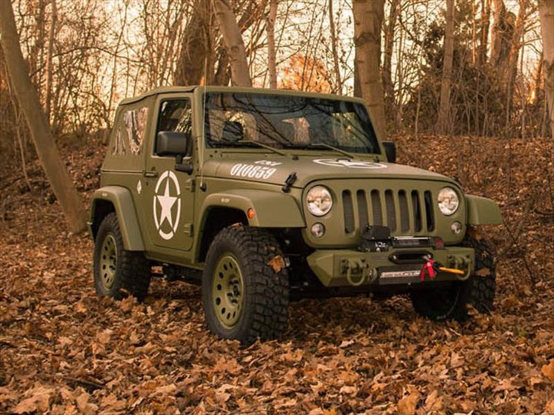 Jeep Wrangler por GeigerCars rinde tributo a los Willys MB