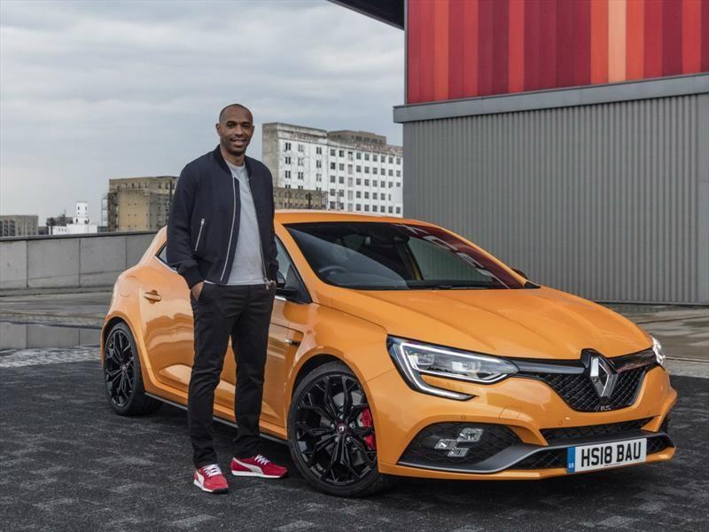 Renault tiene como nuevo embajador a Thierry Henry