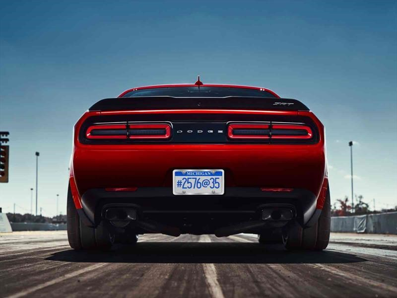Video: Dodge Challenger SRT Demon, un infierno sobre ruedas