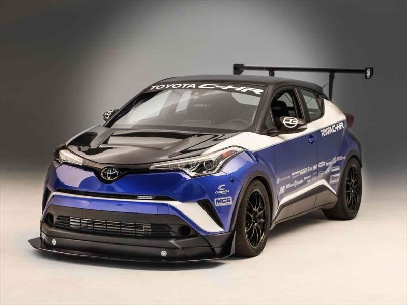 Toyota C-HR R-Tuned, material de pura competición