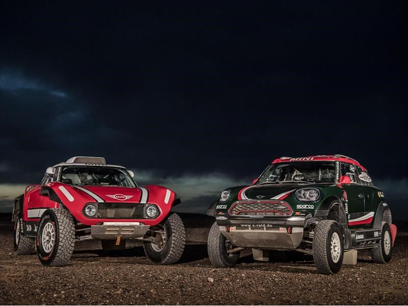 MINI John Cooper Works Buggy está listo para el Dakar 2018
