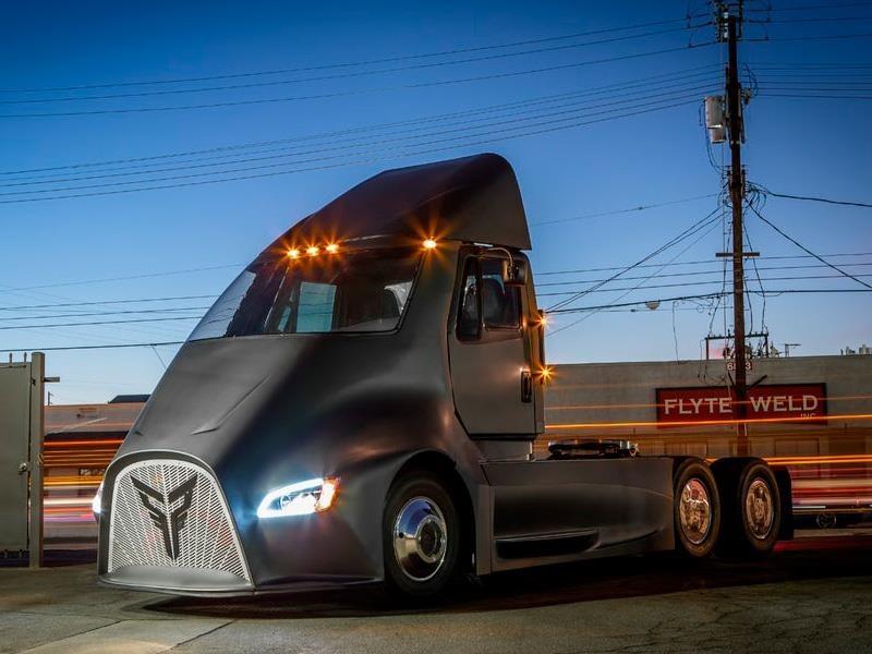 Thor Trucks ET-One es el rival del Tesla Semi