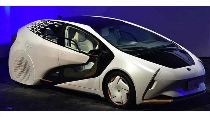 Toyota LQ, este si es definitivamente el auto del futuro