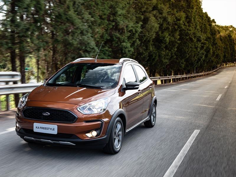 Manejamos el nuevo Ford Ka Freestyle