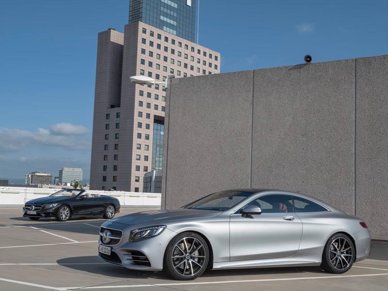 Mercedes-Benz Clase S Coupé y Cabrio 2018, lujo y deportividad de primer nivel