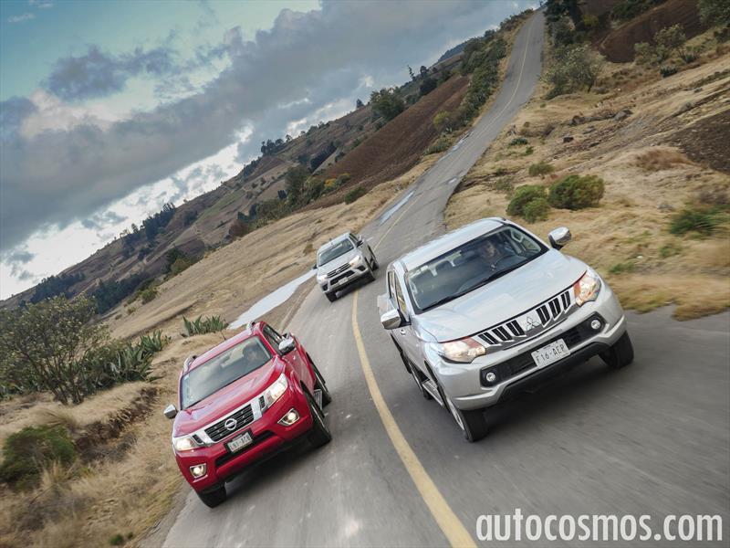 Comparativa: Nissan NP300 vs Toyota Hilux vs Mitsubishi L200