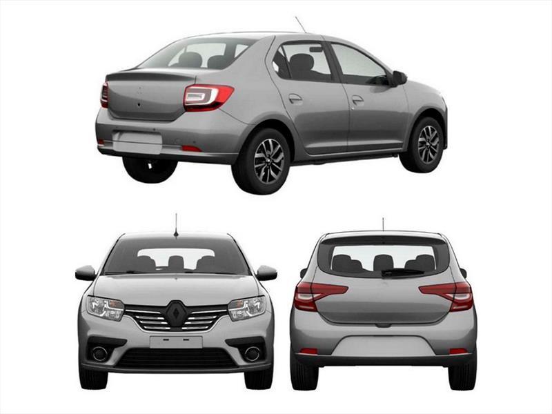 Así serán los nuevos Renault Logan, Sandero y Stepway