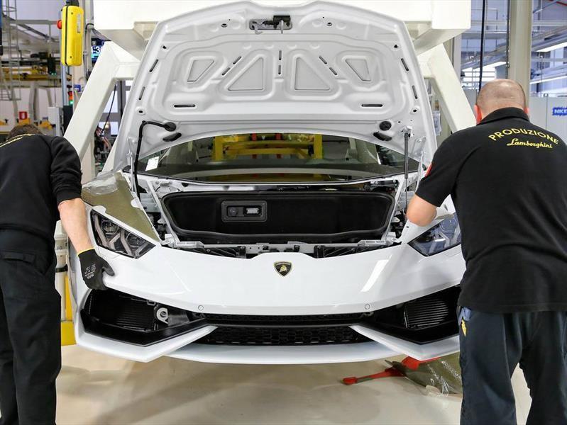 Lamborghini limitará su producción anual 8,000 unidades para no perder exclusividad