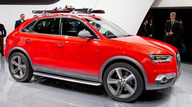 Saln De Detroit 2012 Audi Q3 Vail Concept En El Saln De Detroit