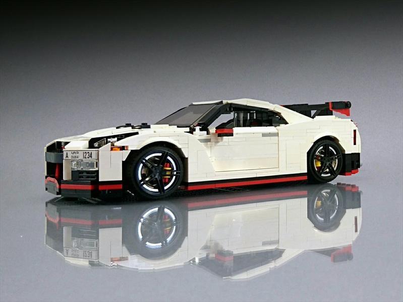 Nissan GT-R NISMO, un divertido juguete al estilo LEGO