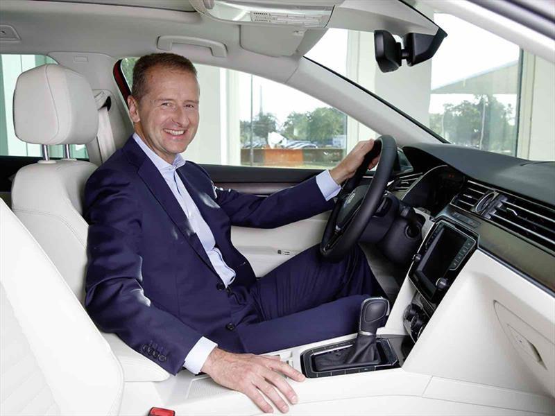 Herbert Diess, nuevo CEO de Volkswagen Group, pretende asociaciones y la venta de algunas marcas