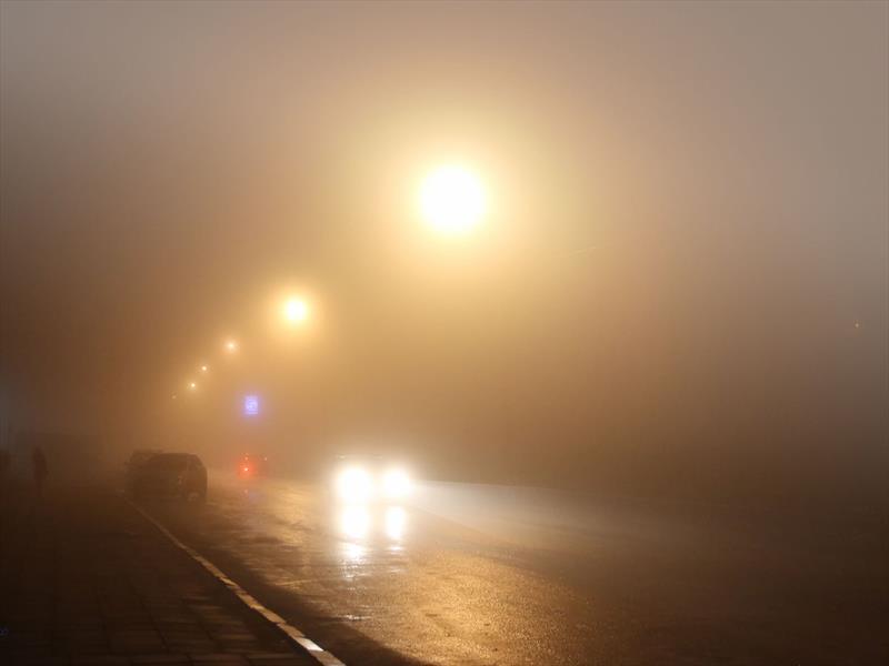 ¡Cuidado con la niebla!