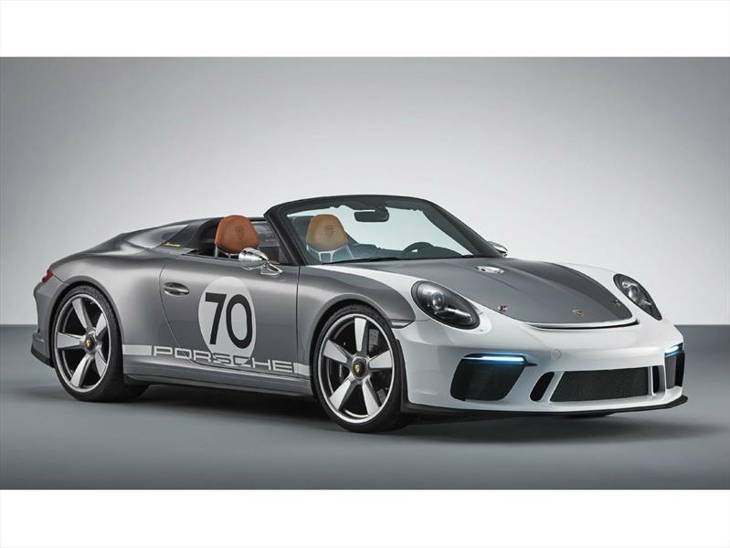 Porsche 911 Speedster Concept, un convertible que reúne el presente y el pasado